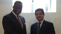 Ambassador and Wayne Forde